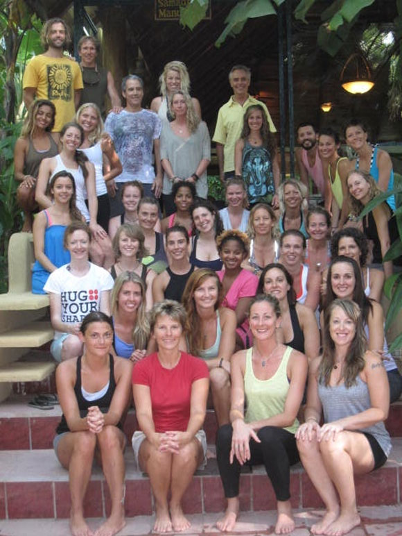 Nosara Yogis - Class of November 2011.