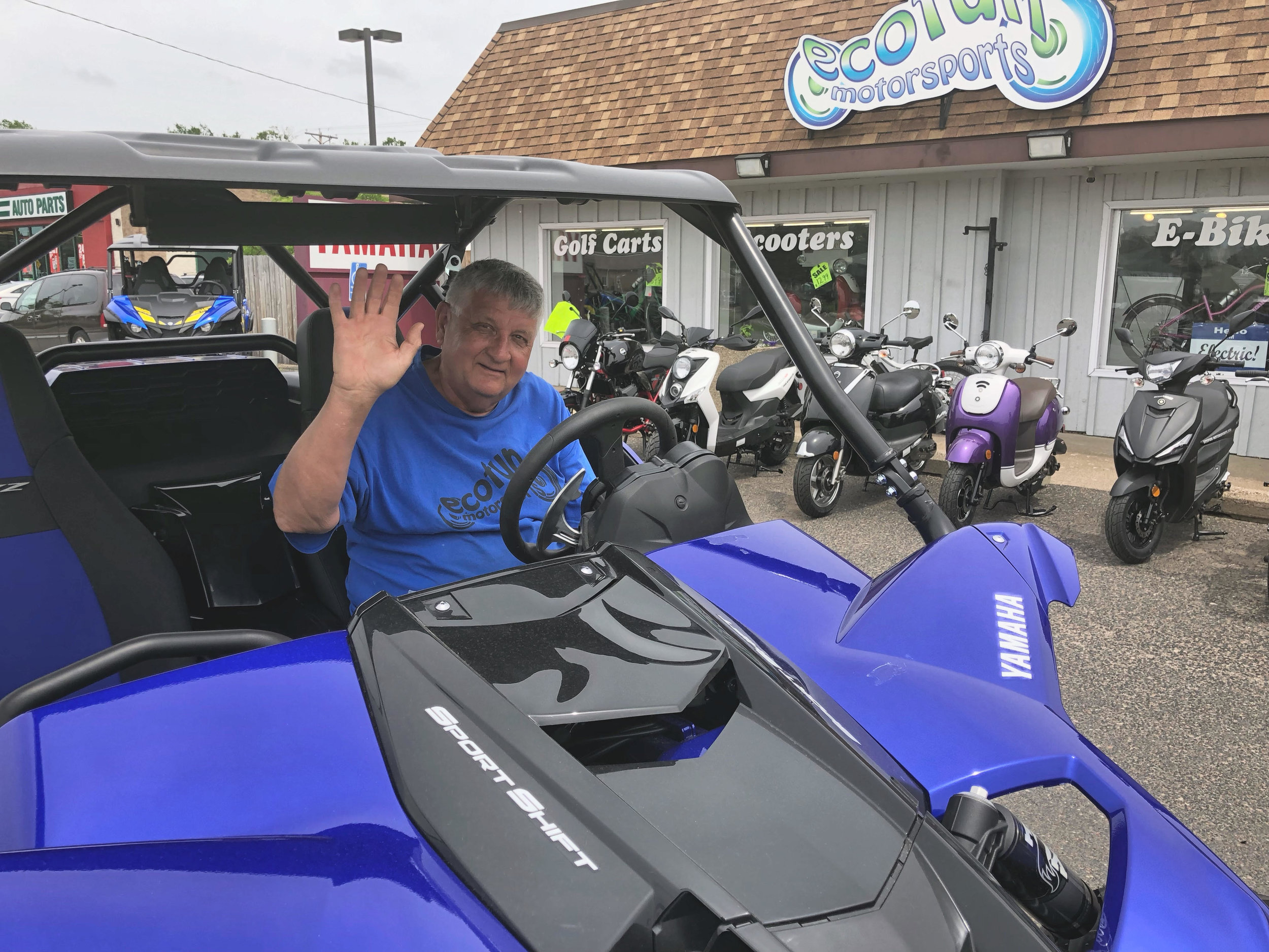 Gary - Maintenance Tech - Gary is our Maintenance Tech but also works in inventory and shipping. His favorite Side by Side is Yamaha YXZ 1000R. On his free time he enjoys spending time at his cabin.