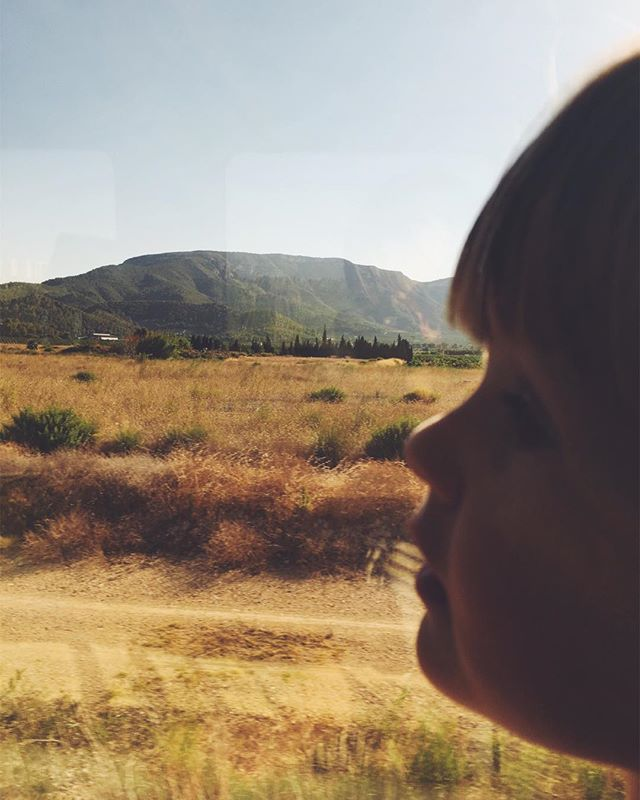 Baby on a train. #mytinyatlas