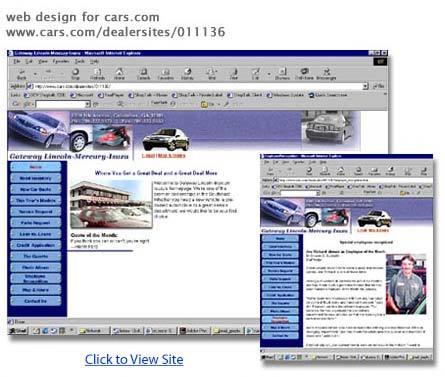 Web design for Cars.com