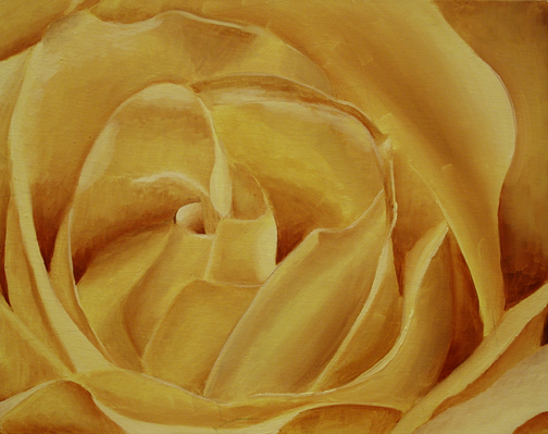 Yellow, Oil on panel, 11''x14'', 2007