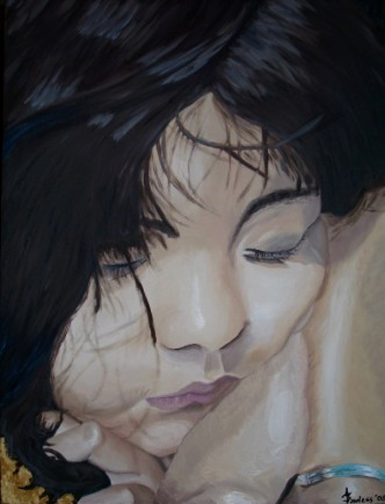 Sophie, Oil on canvas, 18''x24'', 2005