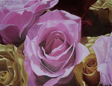 21 Bouquet, Oil on canvas, 16''x20'', 2005
