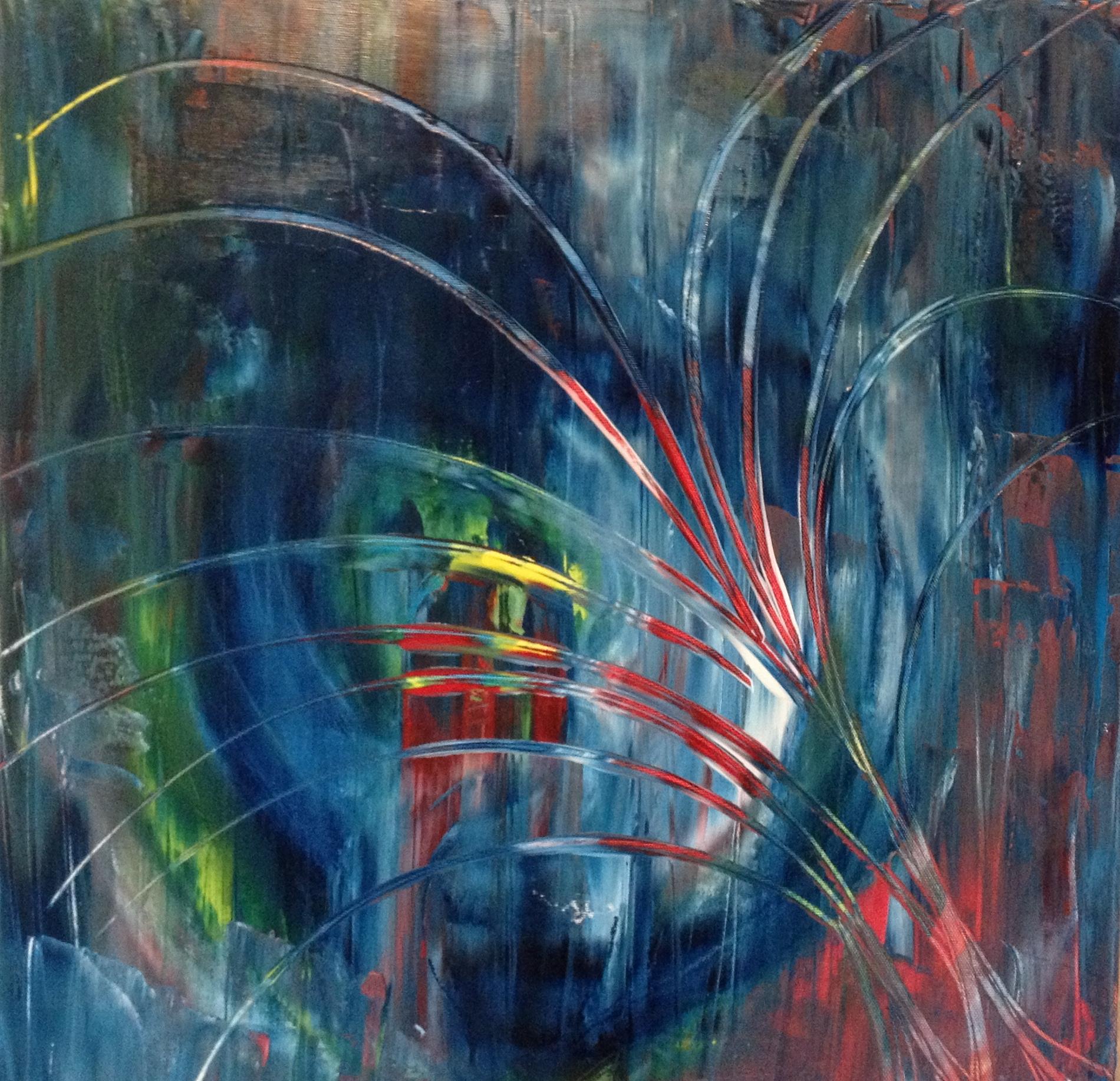 Krystal, Oil on canvas, 20''x20'', 2013