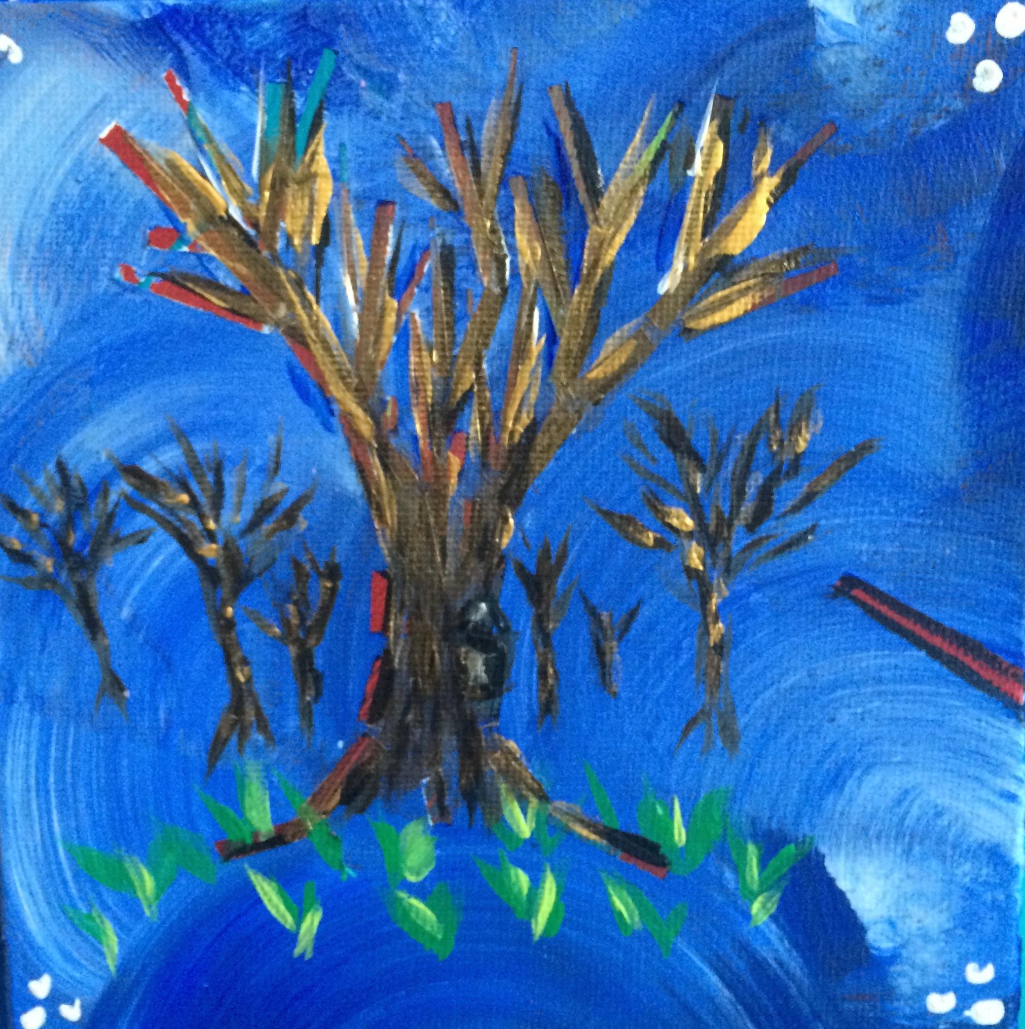 acrylic on canvas, 2013-2015