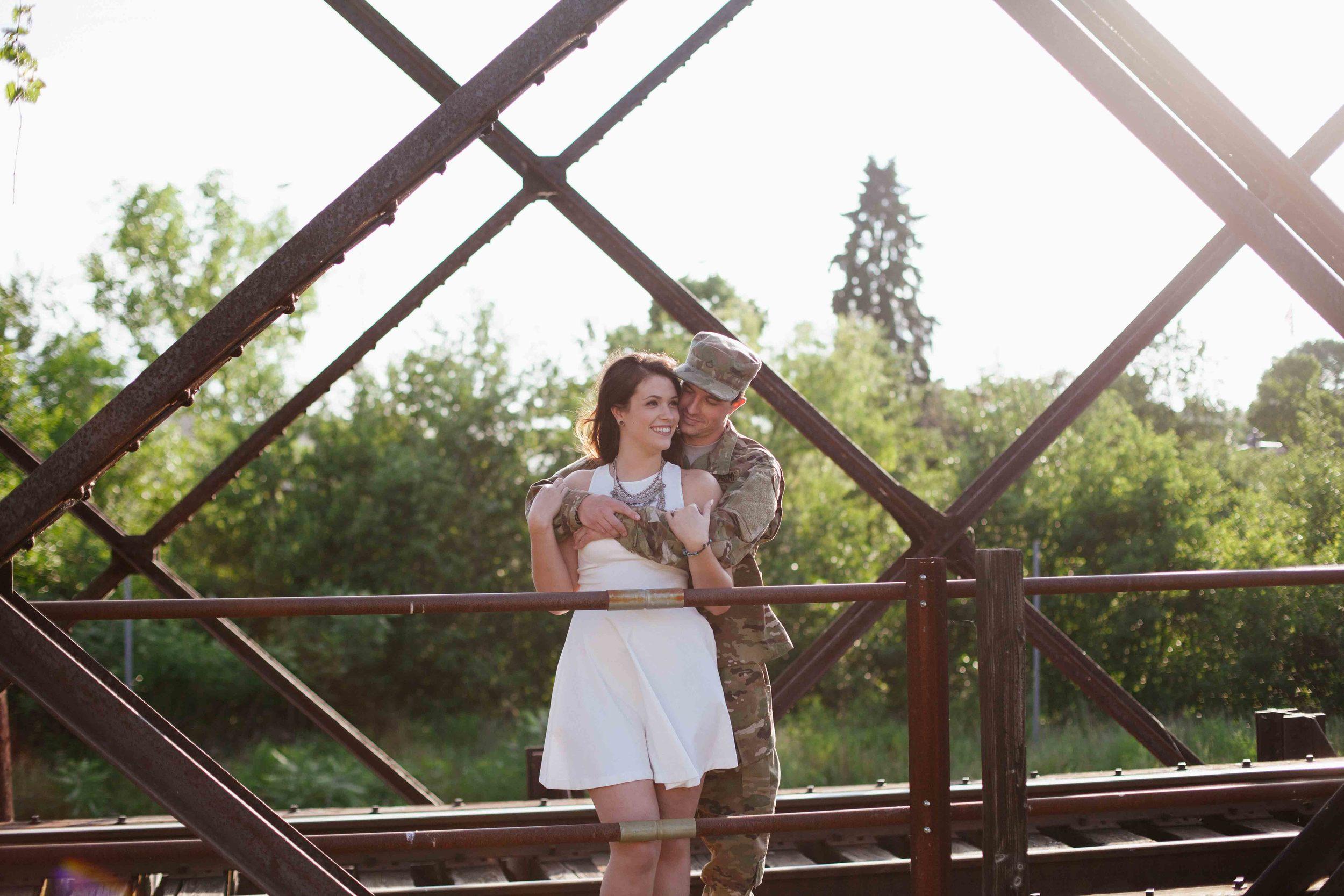 wisconsin wedding photographer wausau engagement shoot