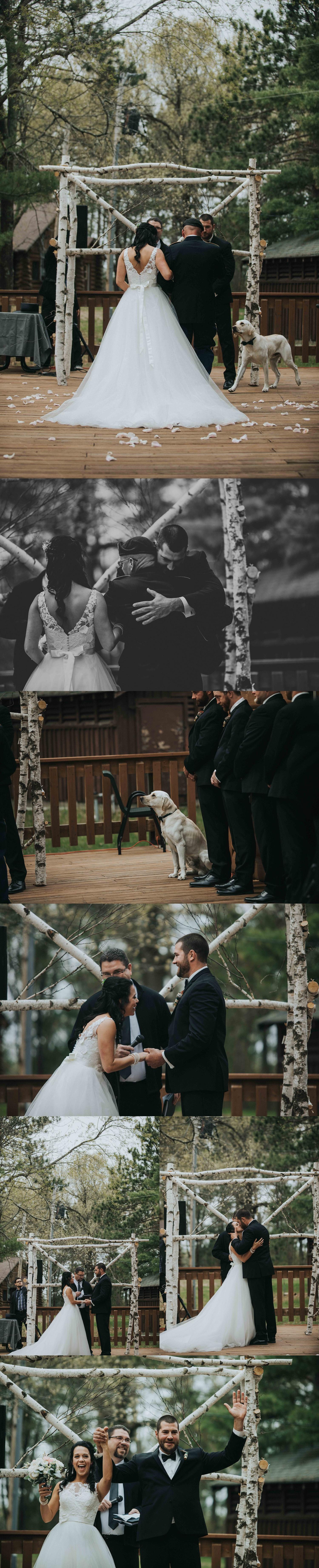 YMCA Camp Alexander Central Wisconsin Wedding With Dogs Photographer Chloe Ann Photography_0006.jpg
