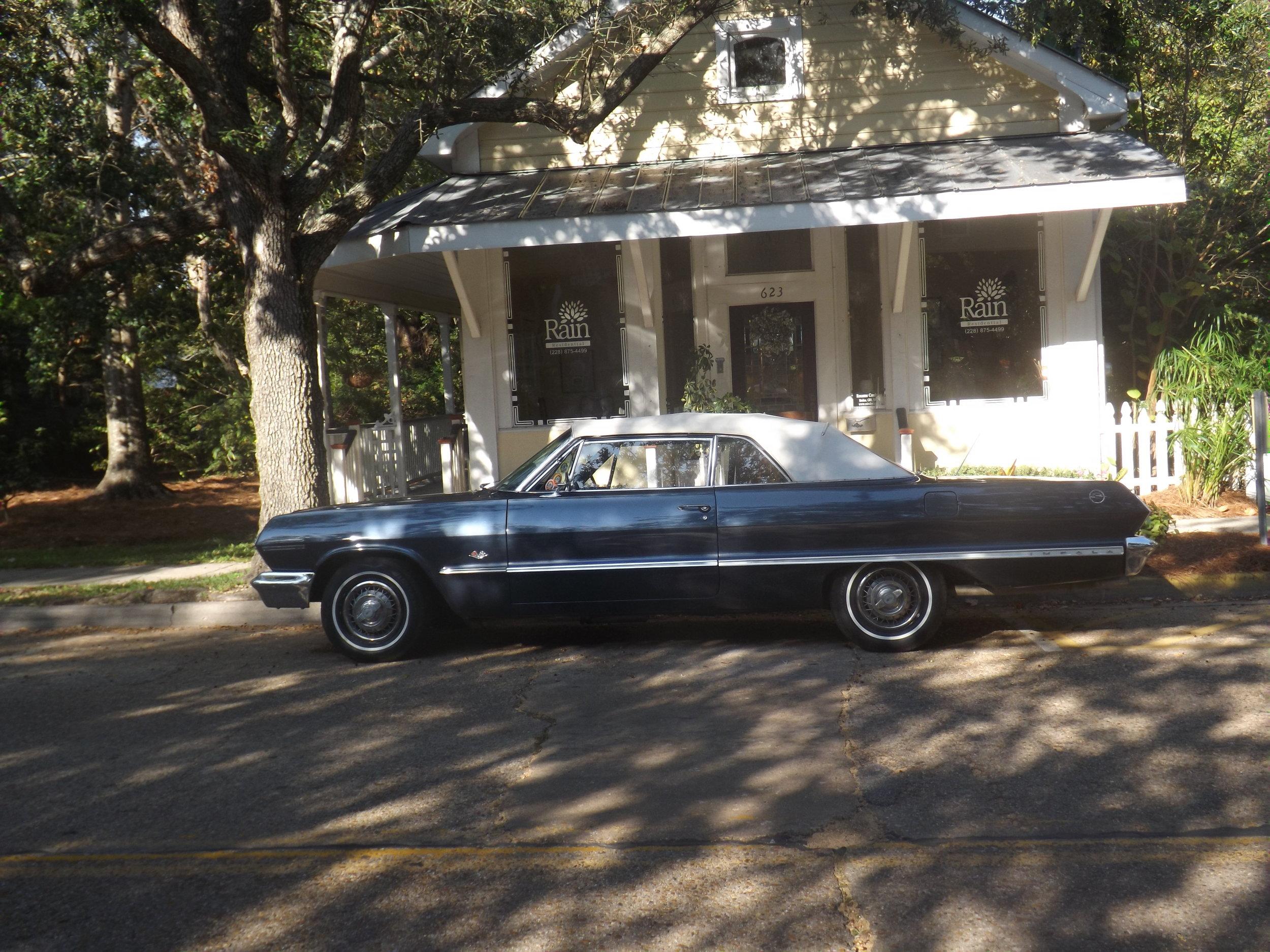 Gerry Doubleday.Cruisin' 2012.1963 Chevy Impala.JPG