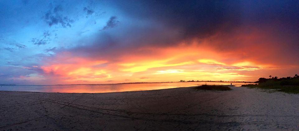 An East Beach sunset by Brenna Landis