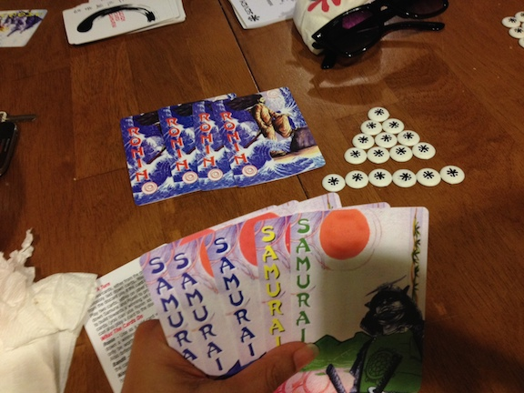 7 Card Samurai