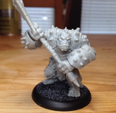 Privateer Press · Hordes · Troll Axer