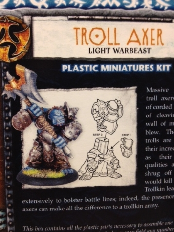 Troll Axer Back of Box
