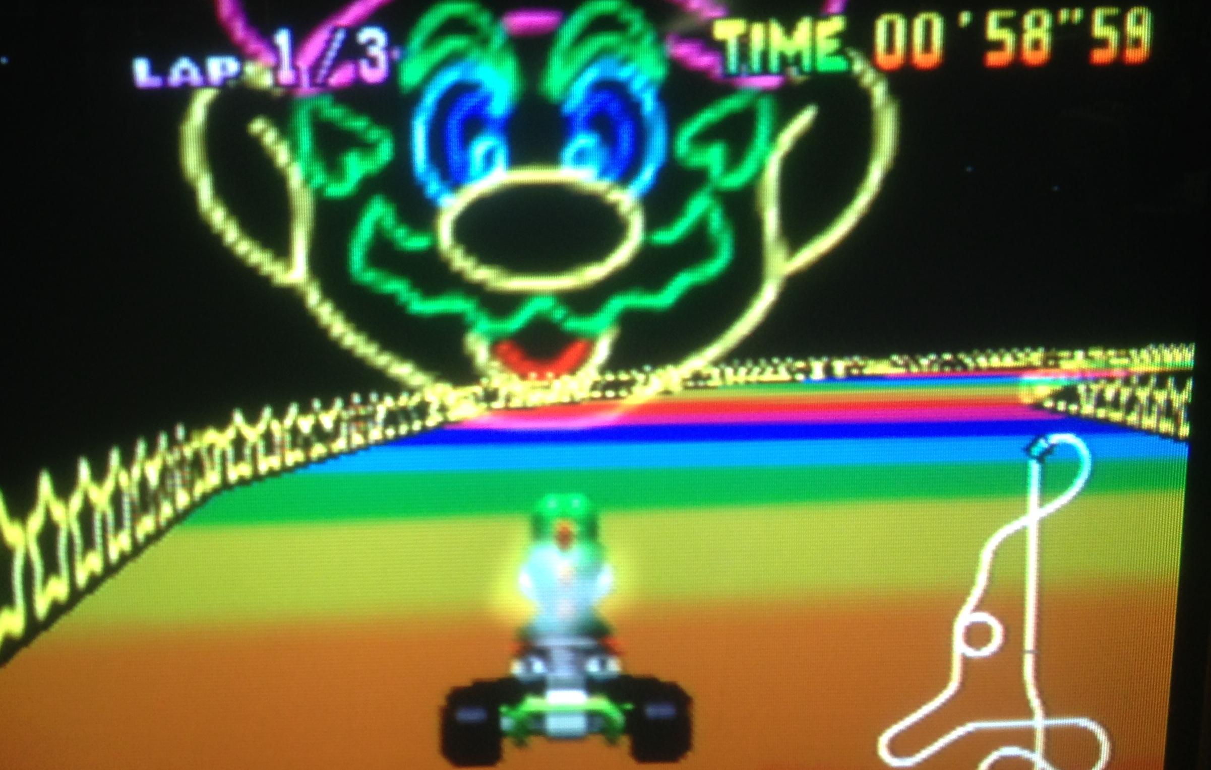 mk64_rainbow_road_yoshi