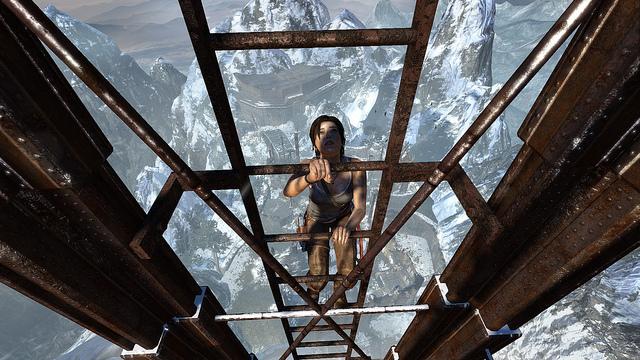 Tomb Raider 2013—lofty goals.