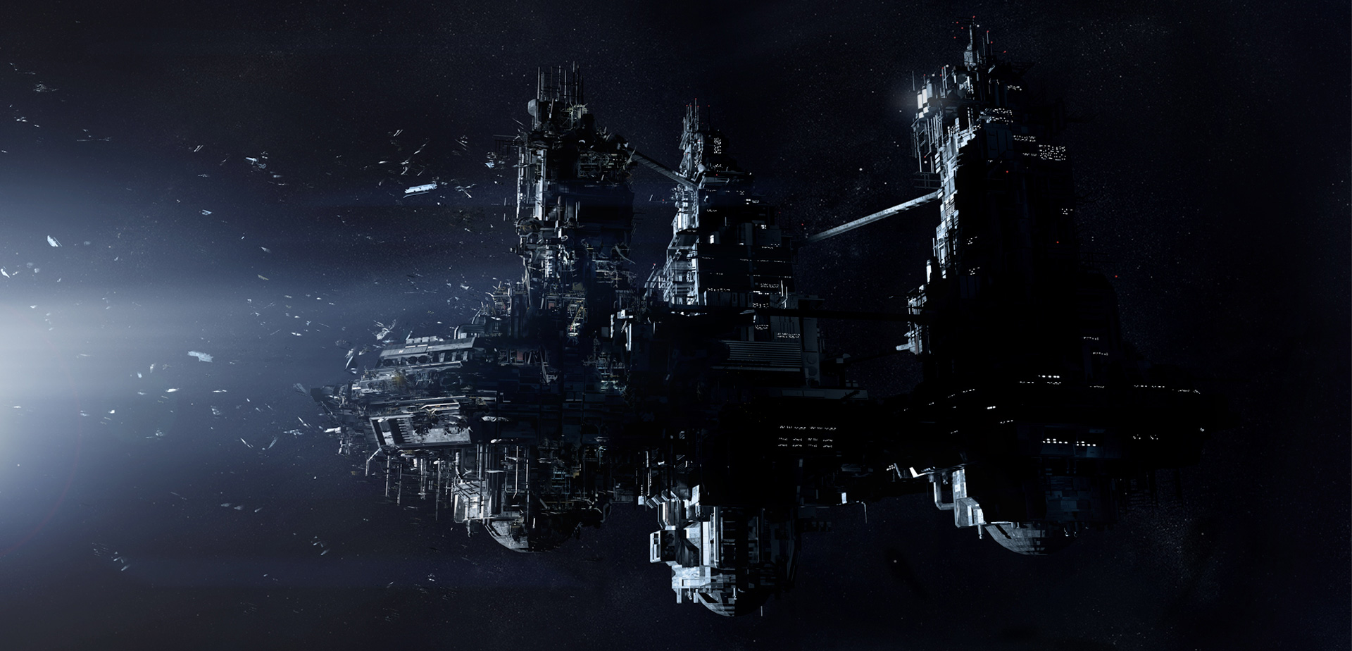 Sevastopol Space Station, in which you will be chased relentlessly by the alien. Welcome home!