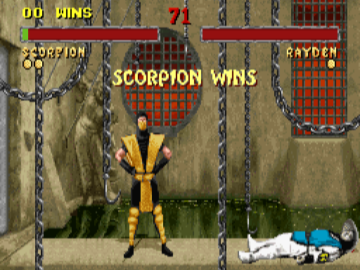 So many hours of my youth spent with the SNES version of  Mortal Kombat II . Toasty!