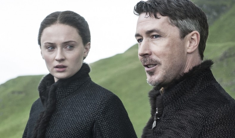 Sansa and Littlefinger are up to something.