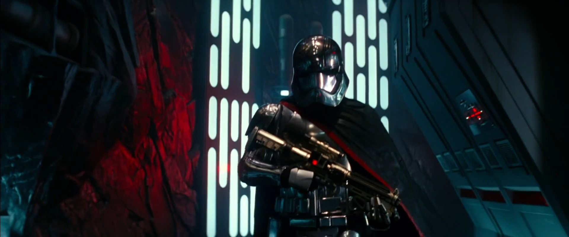 """Not the same guy as Kylo Ren. Google says this might be a """"Chrome Trooper""""?"""