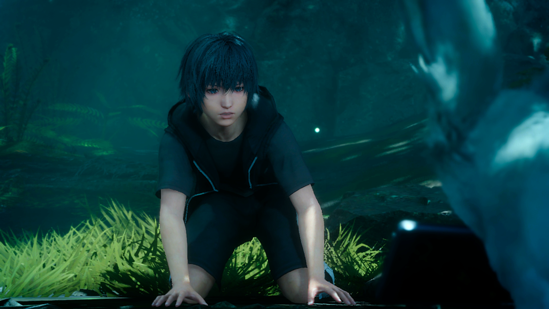 Young Noctis wakes up in a forest in his dreams. Wait, can you wake up in a dream but still be dreaming?