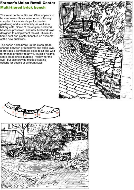 Material details sketch