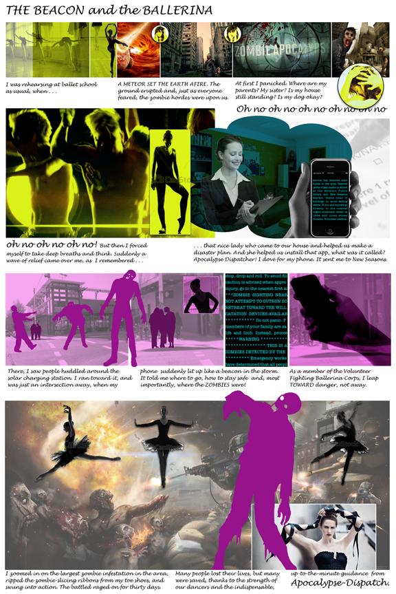Comic-style storyboard