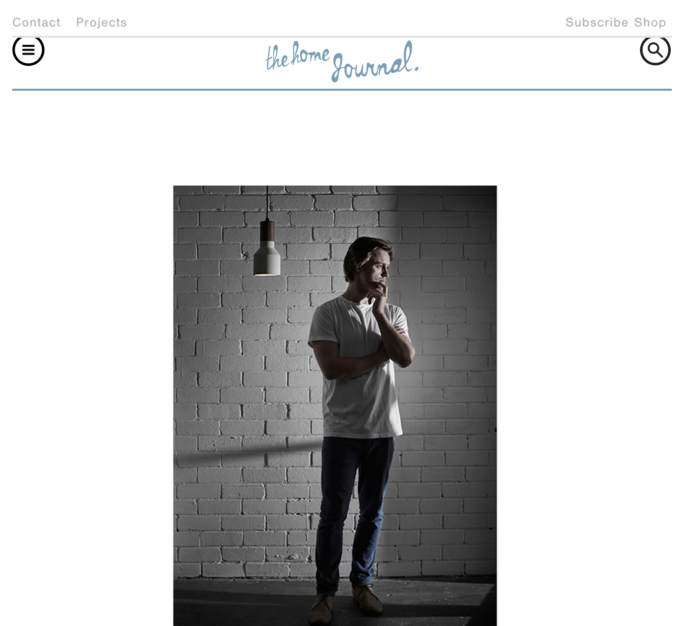 October 2014 | The Home Journal | Online Interview