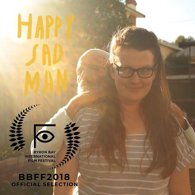 Our new film HAPPY SAD MAN will premiere in BYRON BAY AUSTRALIA next Saturday October 13 at @byronbayfilmfestival See you at Brunswick Picture House at 8pm. We shot part of the film in the area and cannot wait to be back by the sea. Please tag your mates. #ByronBay #Byron