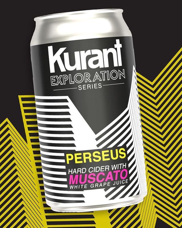 ***ANNOUNCEMENT*** _ Our new Exploration Series cider launches into the world this Friday!  Stop by @kurantbrewandbrew to get your first taste on draft and grab some 4 packs to go!  _ This Muscato infused dry cider is a must try if you're a wine or cider fan. It's a must try if you just like having a great time. Coming in at 7.2% abv it's no slouch in the booze department!  _ Look for it at your favorite bar, restaurant, and bottle shops starting next week.
