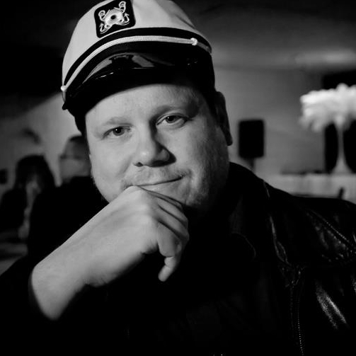 Yours truly having a serious moment at the TXRG Whammy Awards in 2012. I'm on a boat.