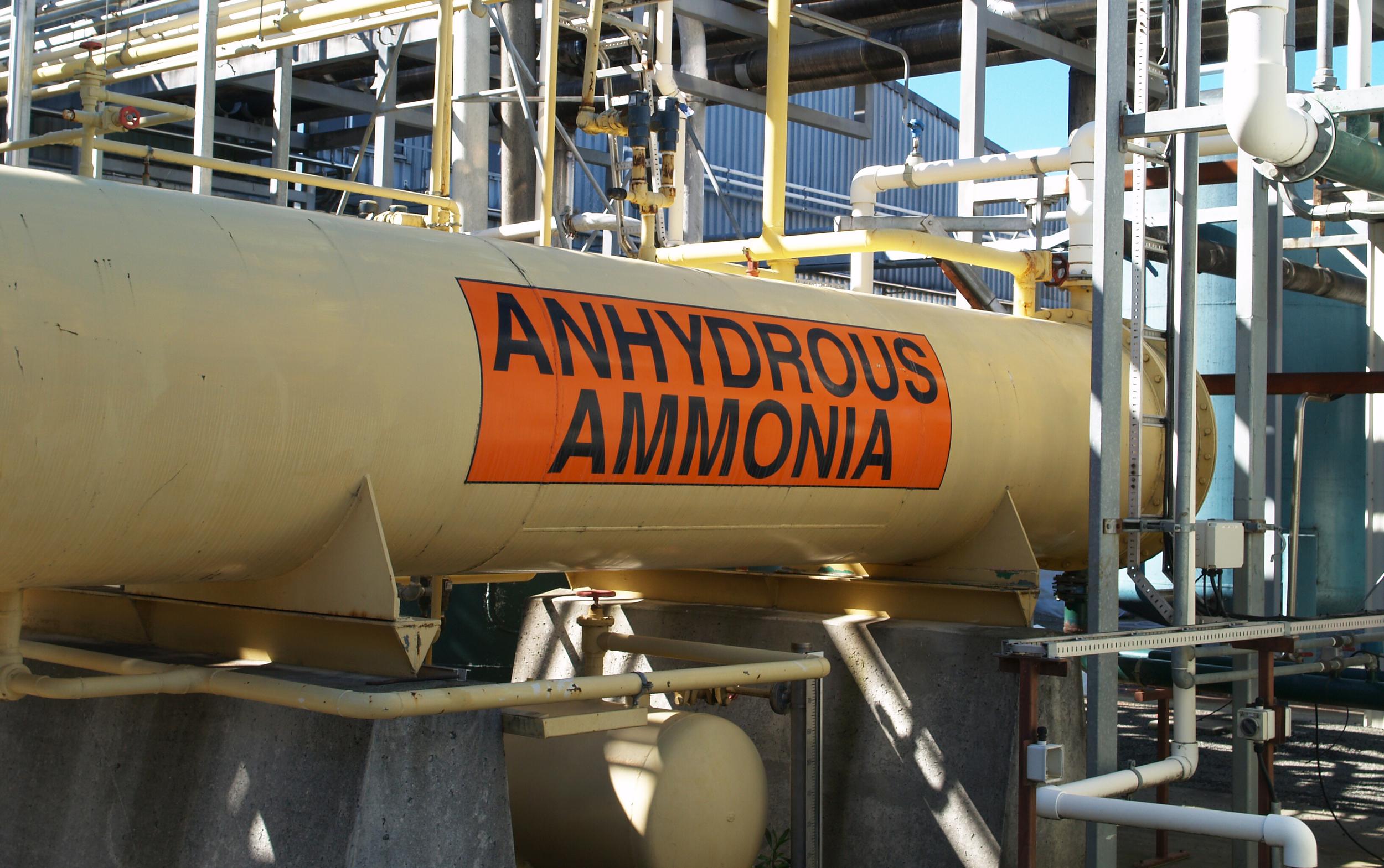 Ammonia Risk Management Program (RMP)