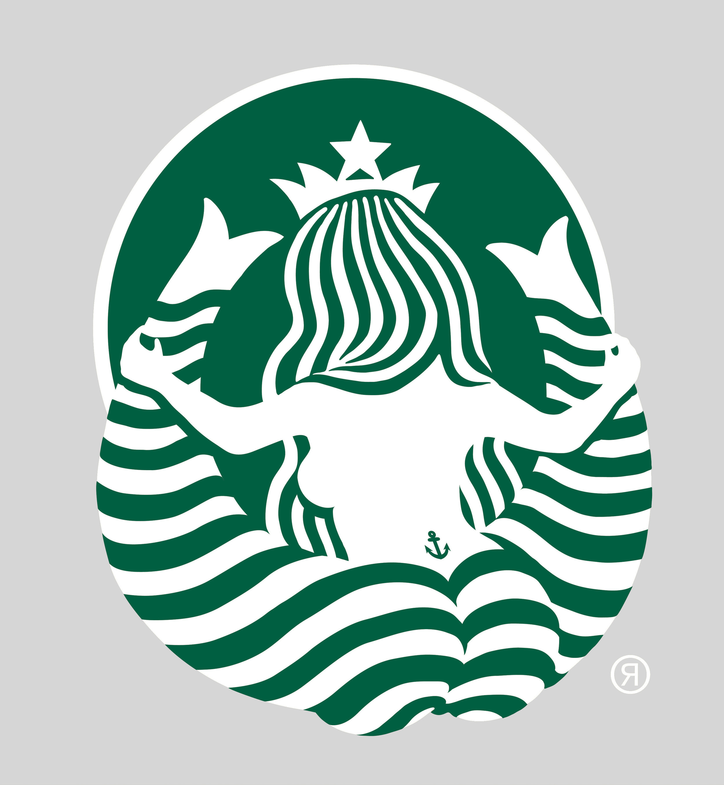 Starbucks logo  for FHM's 100 sexiest women in non-existence