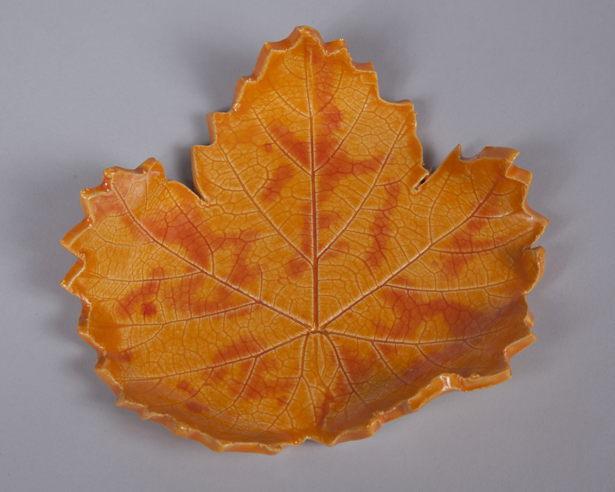 Orange Grape Leaf