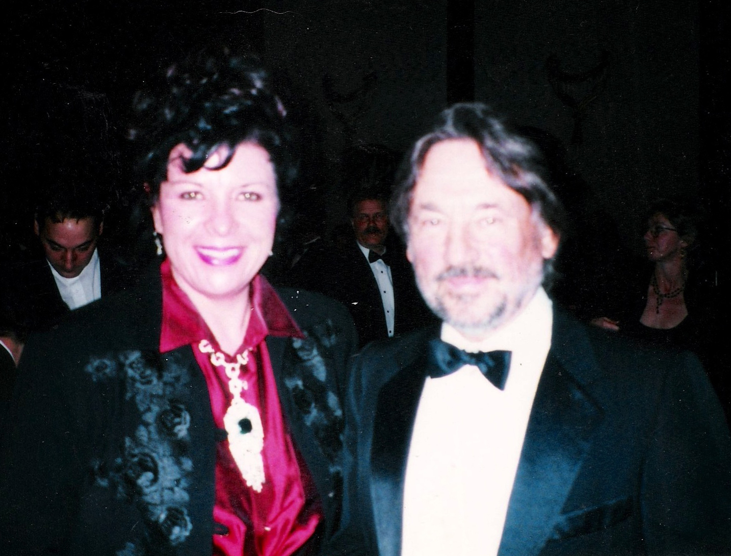 Tracy with Vilmos Zsigmond at the DGA Awards