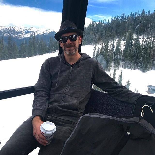 Had a blast in Aspen with @popnouveaujazz The gondola ride up to the gig was epic.  #aspen #aspenmountain