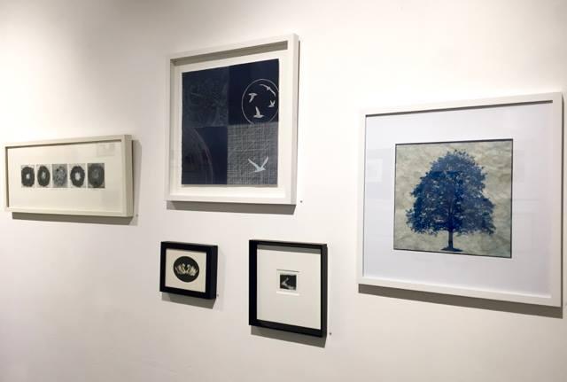 Works by  Megan Dickinson ,  Virginia Guy ,  Celia Walker , Kyla Cresswell  and  Elektra Bakhshov .