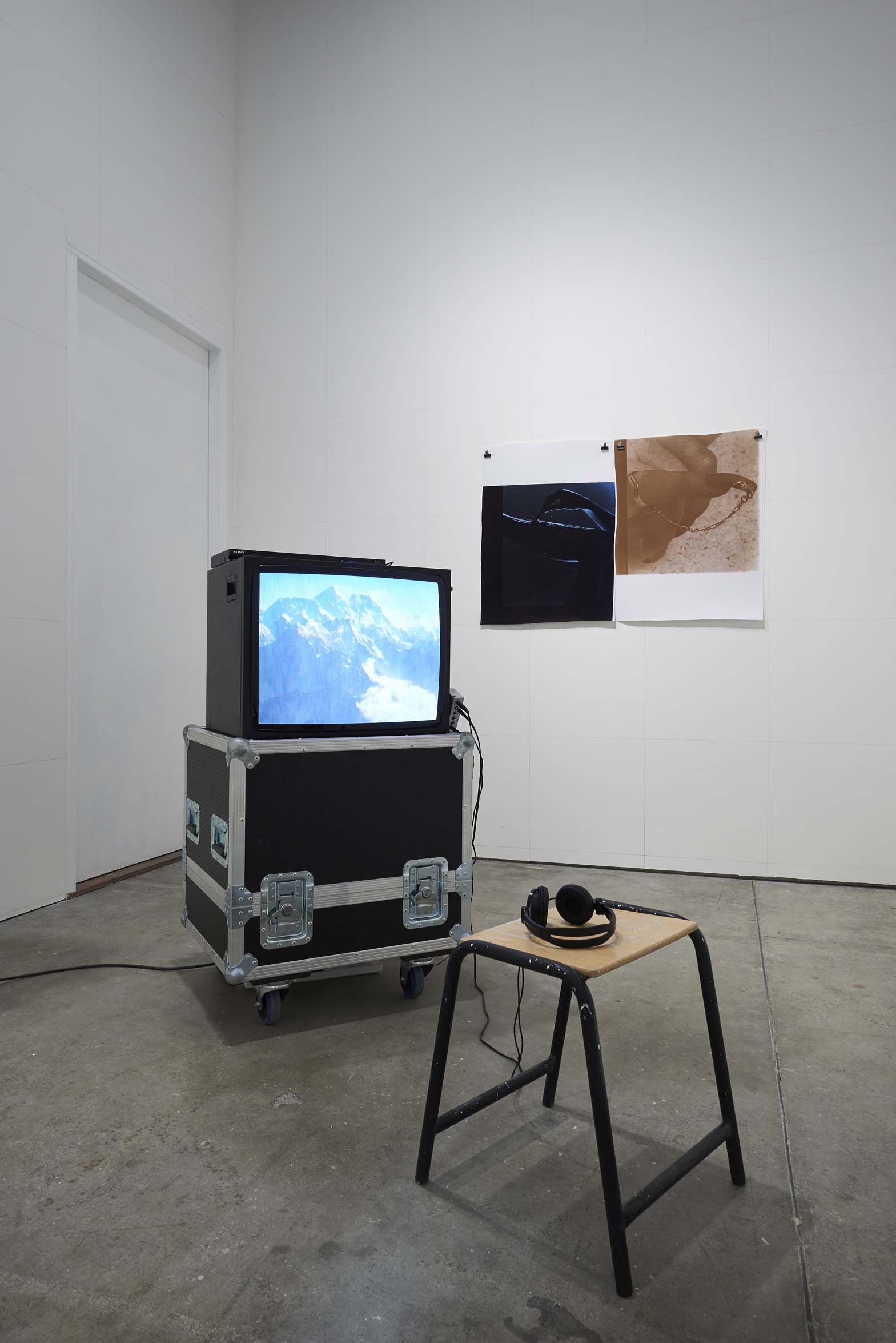 Installation at Mind Rhymes, Hidde van Seggelen Gallery, London, 2013