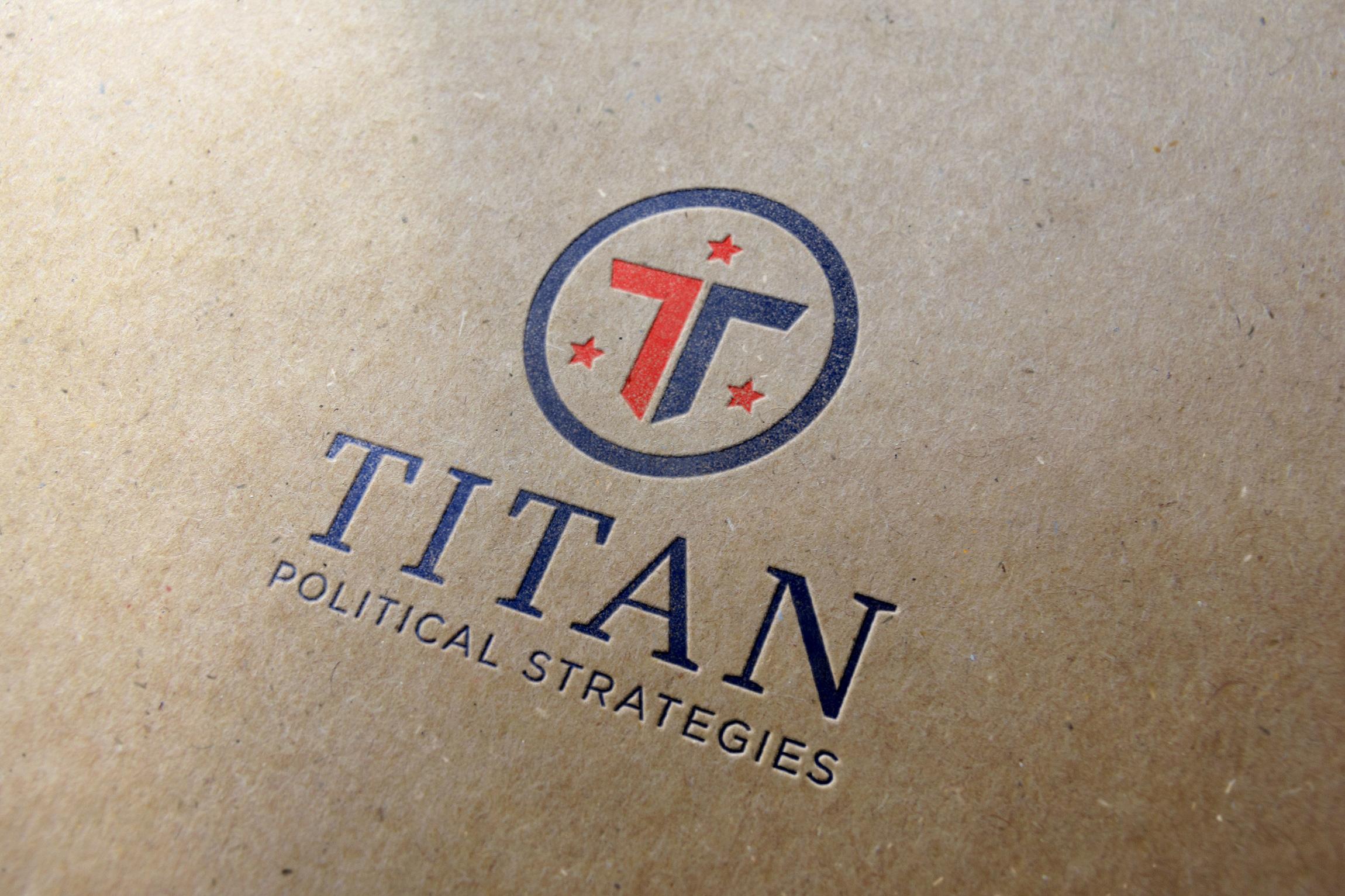 Titan Political Services Brand Identity    Services provided: Logo Design, Corporate Design Guidelines