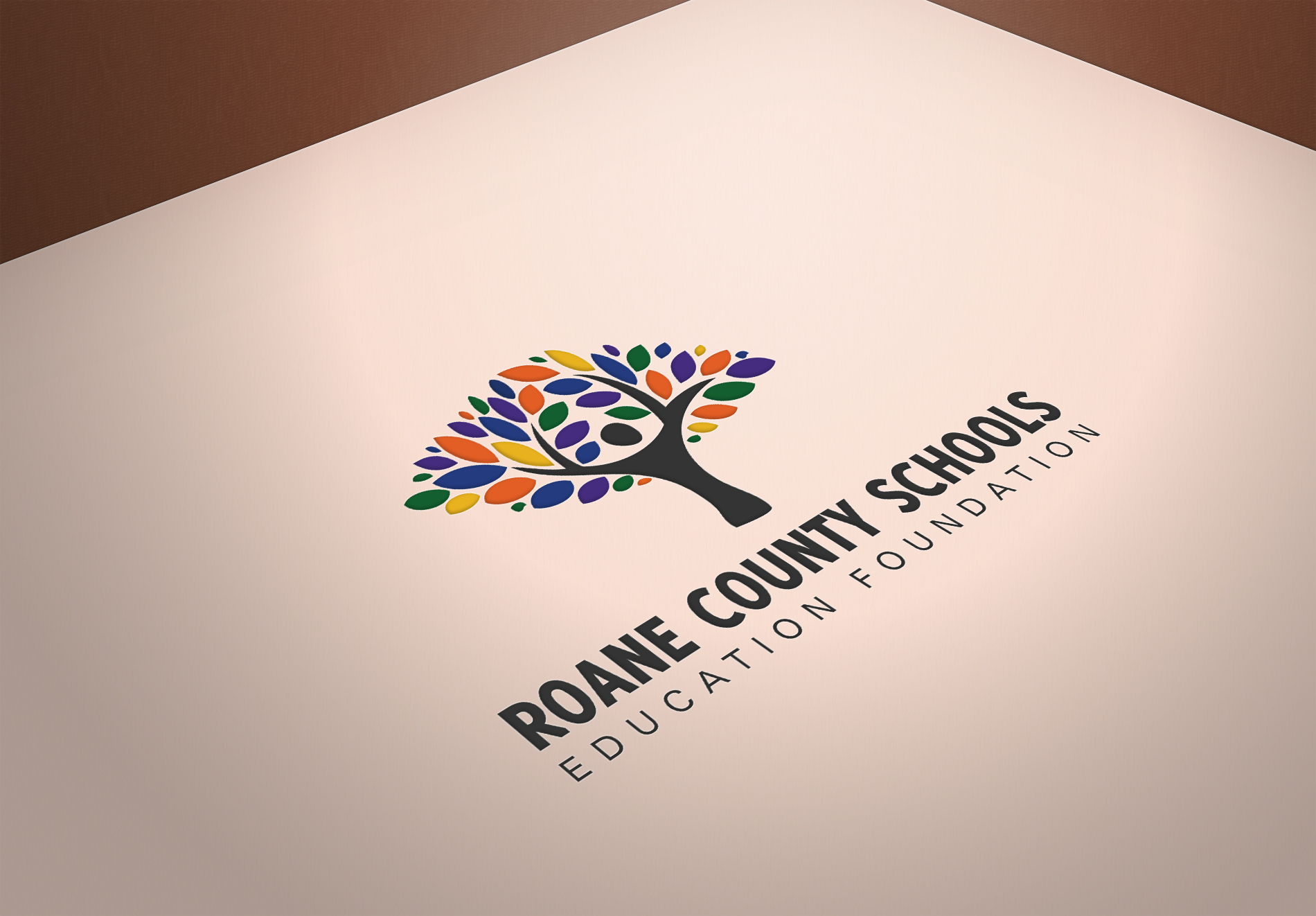 Roane County Schools Education Foundation Brand Identity    Services provided: Brand Strategy, Logo Design, Corporate Design Guidelines