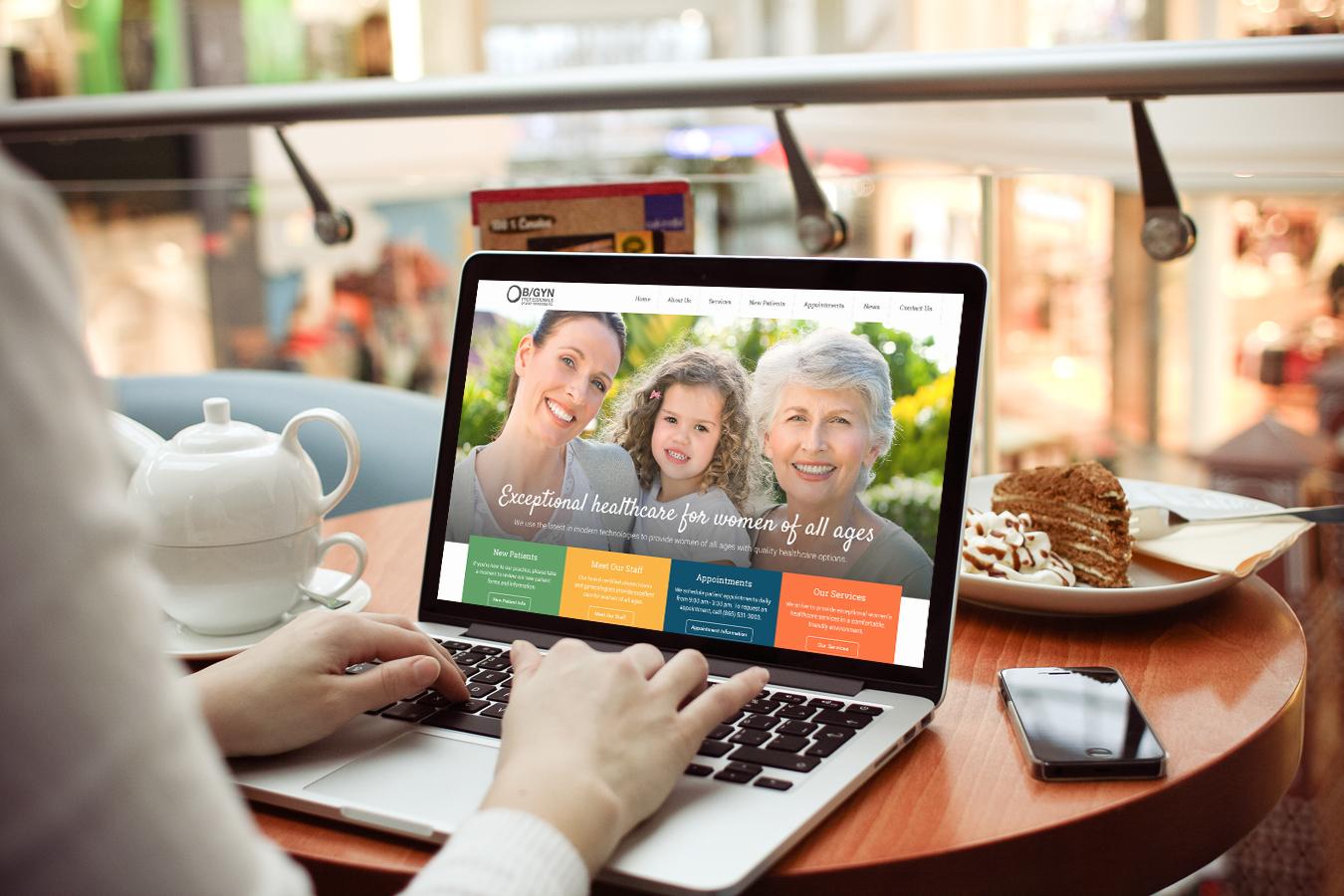 OB/GYN Professionals of East Tennessee Website    Services provided: Responsive Website Design & Development, Custom Wordpress Integration,Search Engine Optimization    Visit Site