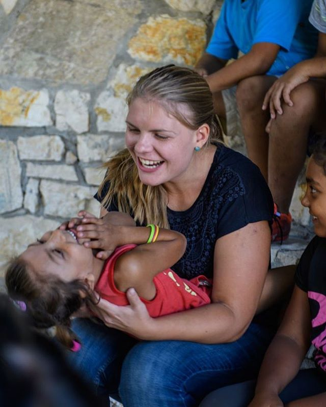 """""""The joy I saw in their faces that day reminded me why I am here,"""" recalls Saskia. """"I might not have been able yet to tell them about God's love, but He let me show it and let me spread His joy amongst His beloved children."""" #PeopleOfOM #jesusfollower #missions #ominternational  Read more at stories.om.org Saskia's Albanian Journey  Photo by Garrett"""
