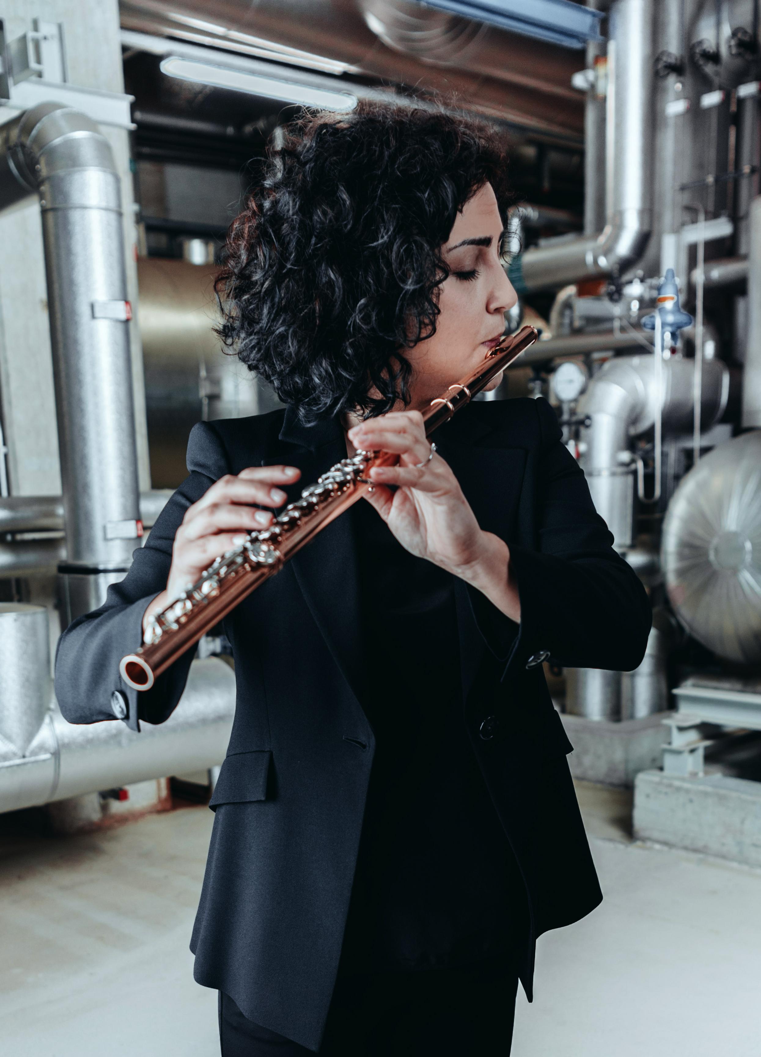 Alessandra Russo , flauto