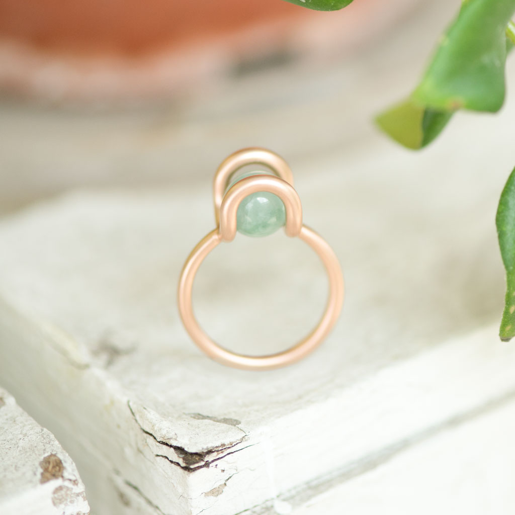 CURVE WELL RING