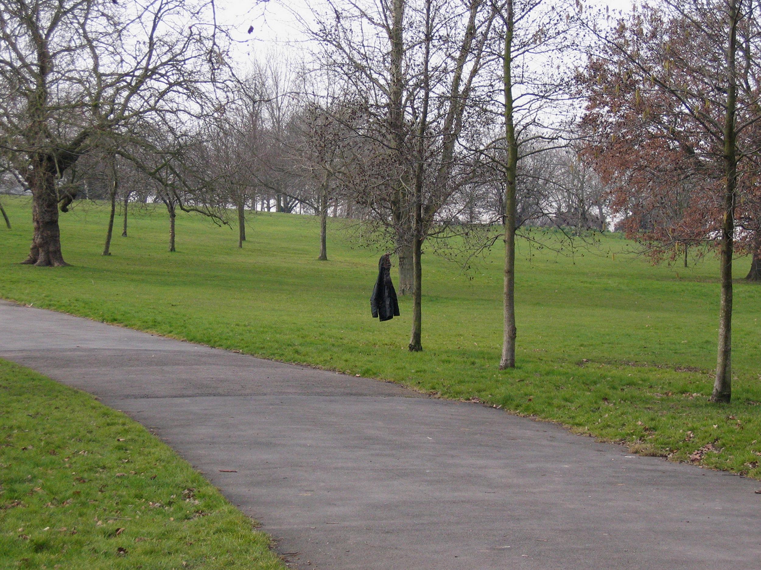Untitled (cloak),Framed Digital Print, 22.5x30cm, 2005