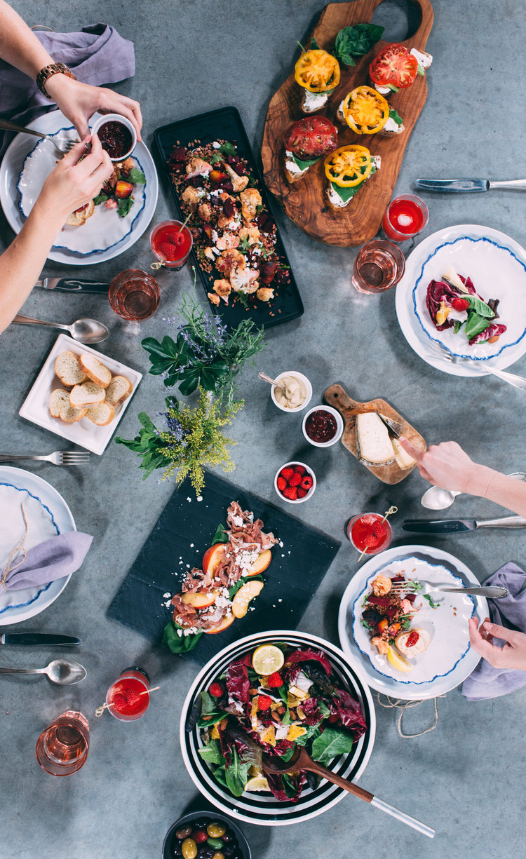 PROP + FOOD STYLING -