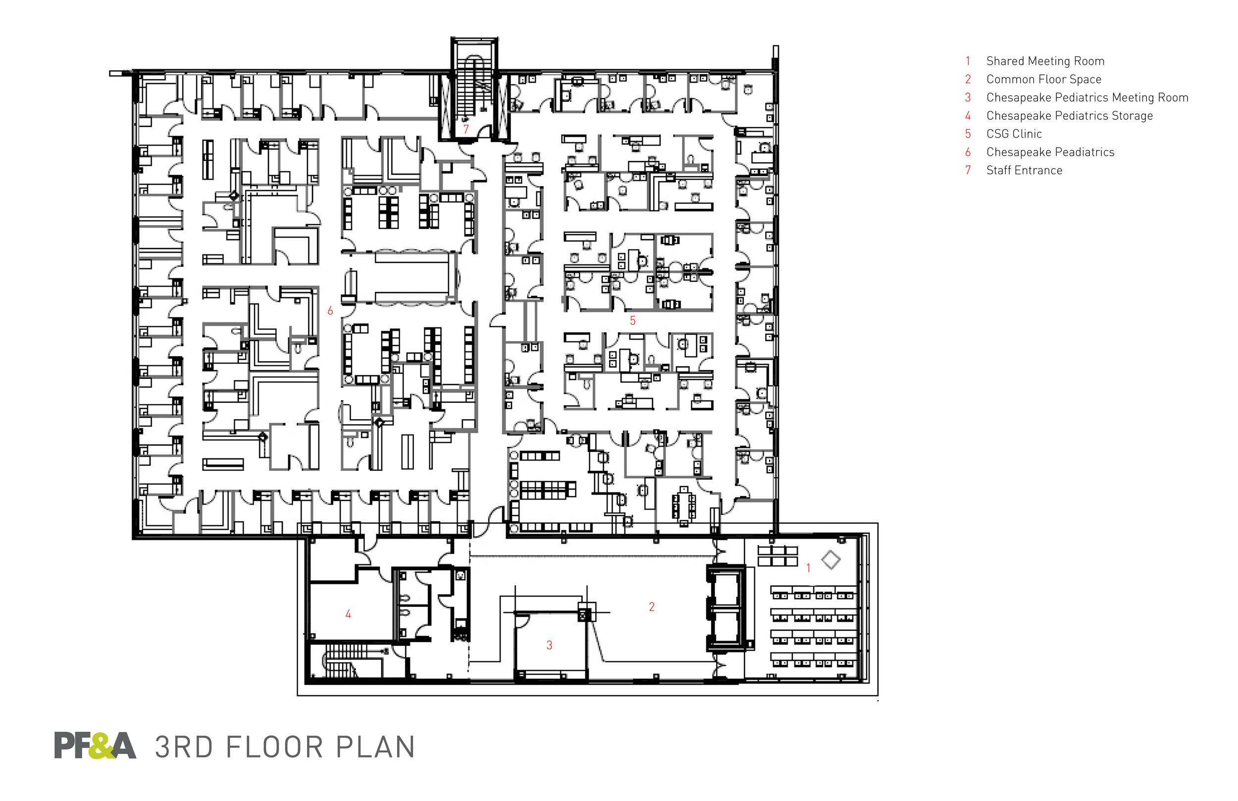 Health Center at Oakbrooke - CHKD - Interior – PF&A DESIGN