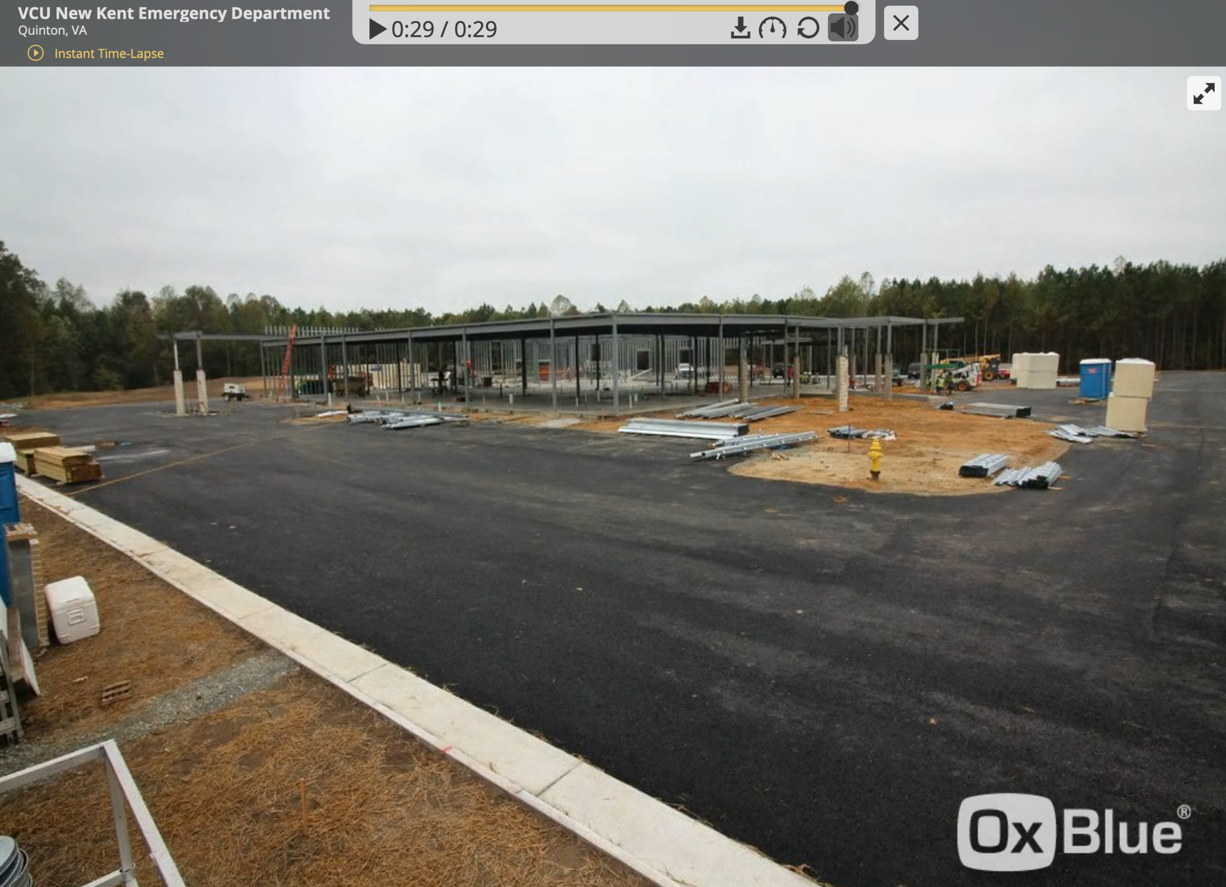 Time lapse video provided by CK Bosworth Construction, LLC