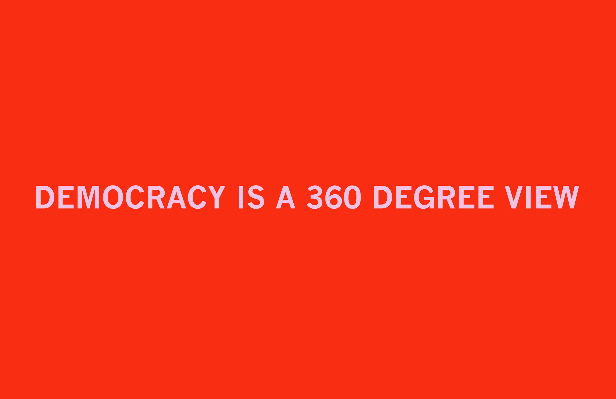 Democracy, v. 1  Archival inkjet print 19 x 26 inches 2011