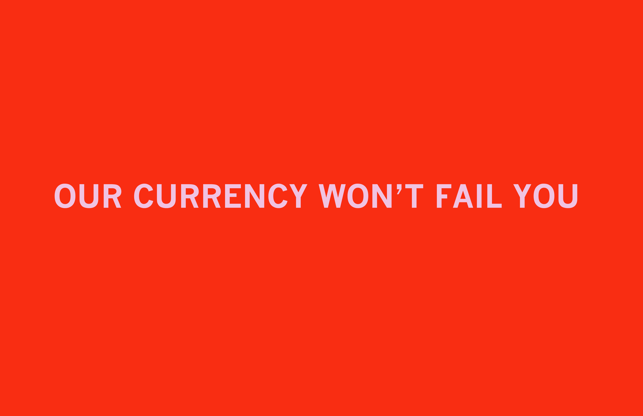 Currency  Archival inkjet print 19 x 26 inches 2011