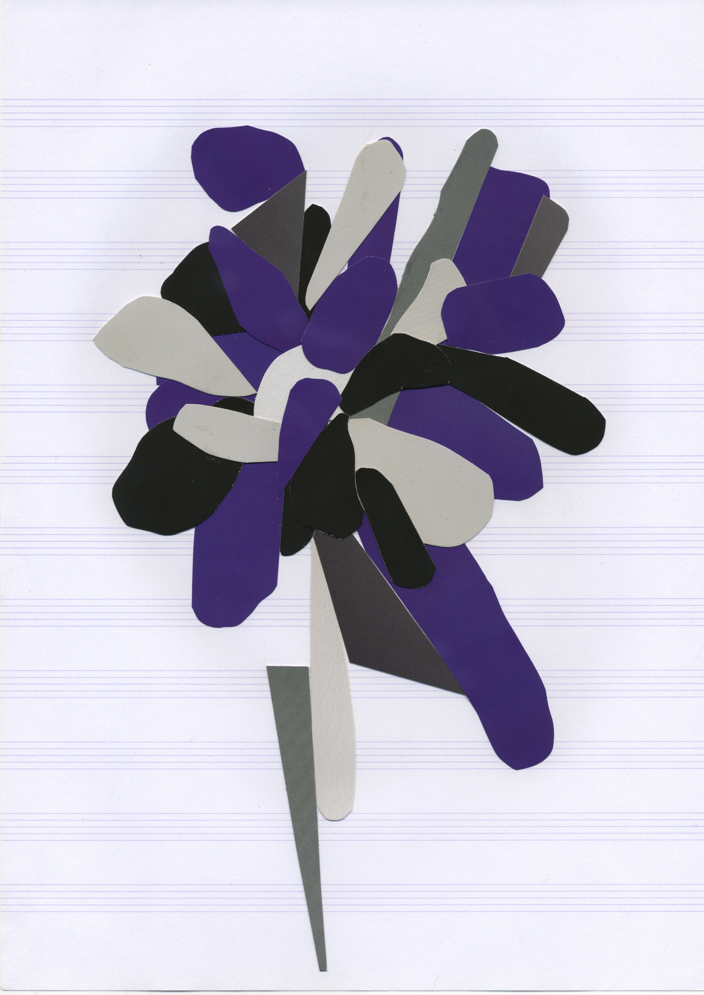 Copy of As if pruning a tree, after Matisse