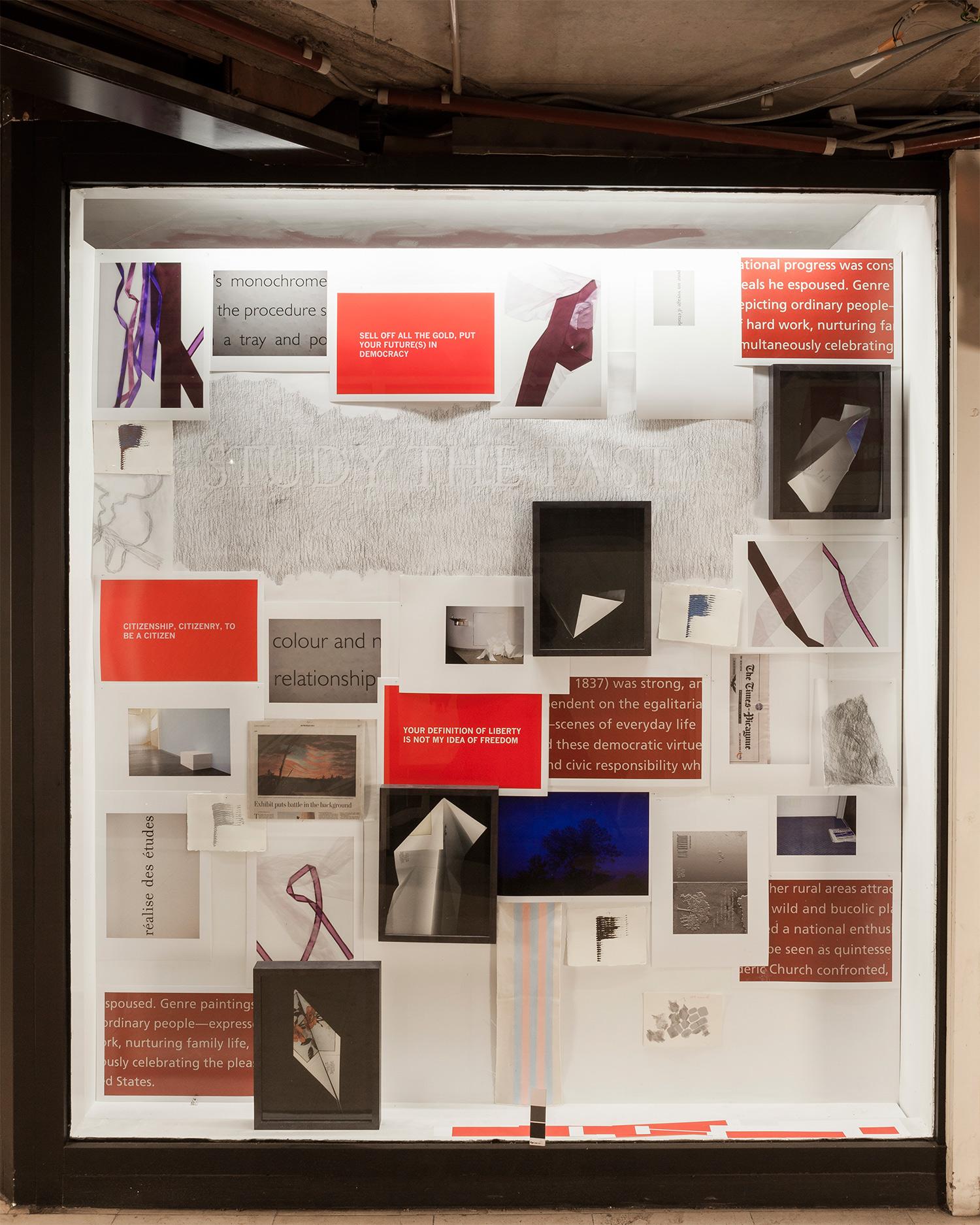 LISA BLAS  /  STILL LIFES, SOMETIMES REPEATED  / Ground floor installation / ROSSICONTEMPORARY, BRUSSELS 2012-13